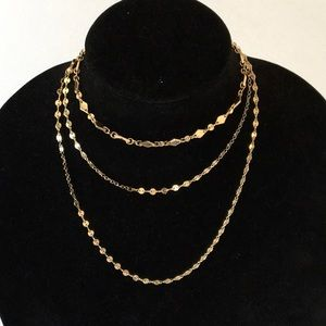 New BaubleBar Layered Necklace
